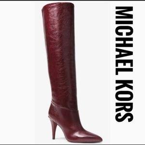 MICHAEL KORS Rosalyn Leather Boot✨✨Brand New!